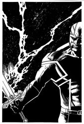 Captain Britain by luisalonso