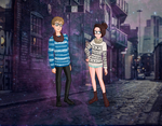 Hipster Couple by great-disaster