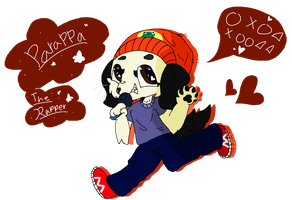 PARAPPA THE RAPPER!!!!!!!!! by DoggieDiaries