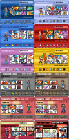 All Pokemon game trainer Card by Naruttebayo67