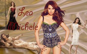 Wallpaper -Lea Michele by DarinaBerry