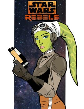 Hera Syndulla by GordZee