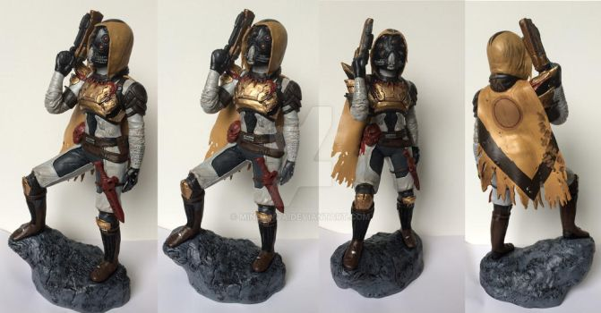 Destiny Hunter Figure by minoanoa