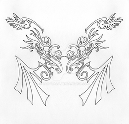 baroque wings by babayalo