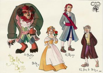 Design Beauty and the Beast by IriusAbellatrix