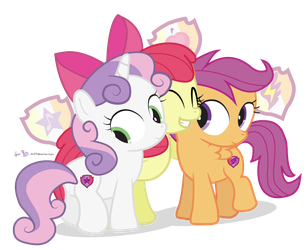 The Cutie Marked Crusaders by dm29