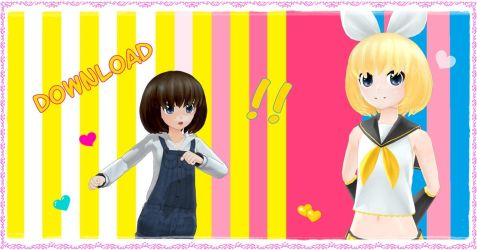 Bob hair - Download by YamiSweet
