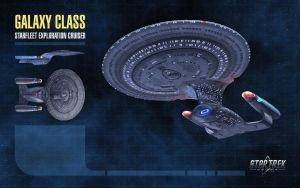 Galaxy Class Starship for Star Trek Online by thomasthecat