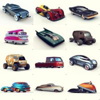 Toy Cars by 600v