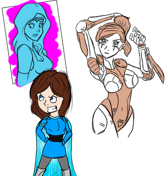 Taking a Sketch Dump by Space-Sweeper