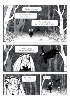 The woods of the occult - page 01 by Rozenng