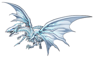 Blue-Eyes Alternative White Dragon render by Carlos123321