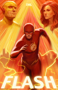 The Flash by ForrestImel