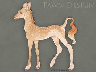 Lady Eilish | Fawnlings Fawn Design by Themisadventure