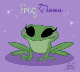 Chibie Frog Tiana by princekido