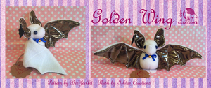Golden Wing Bat by Ishtar-Creations