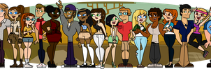 Total Drama Starlight Savanna Cast by Lets-Get-Saiko