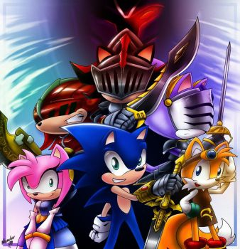 Sonic and the black knight by ArchiveN