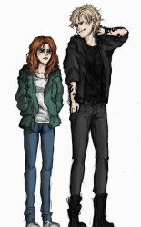 TMI FanArt-Clary and Jace by Be-the-real-me