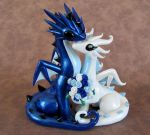 Sapphire and Pearl Topper by DragonsAndBeasties