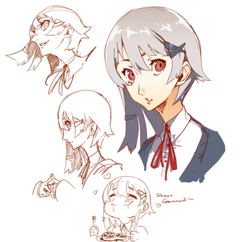 Persona Stuffs by MadiBlitz