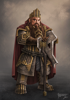 Dain Ironfoot by grzegoszwu