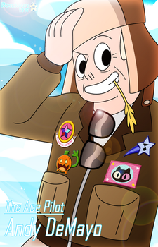 Andy the Ace Pilot by RoseMary1315
