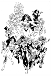 DC Girls by FrancescoTrifogli