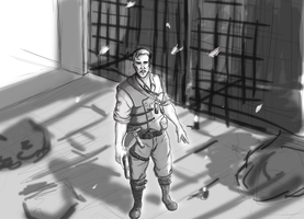 Richtofen sketch by arianat