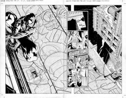 spider-man the list pages 1-2 by MarkMorales