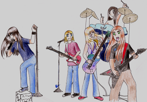 The band by DR-OKASHI