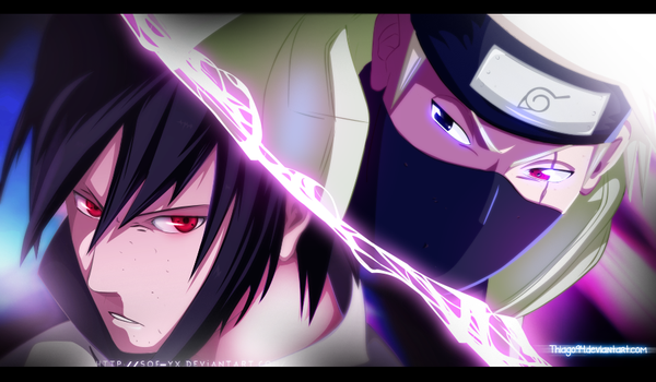 Master and student face-off - Collab with Sof-yx by iThiago