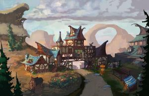 Updated Autumn lodge by coMceptArt971