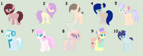 MLP Random OTAs ^^ (Closed xD) by Adopts-All-Day