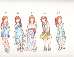 Allie Alyss dress designs by emilyk949