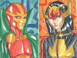 Mister Miracle and Big Barda by CristianGarro