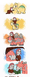 Pokemon - A Boy and His Camerupt by PrincessHannah