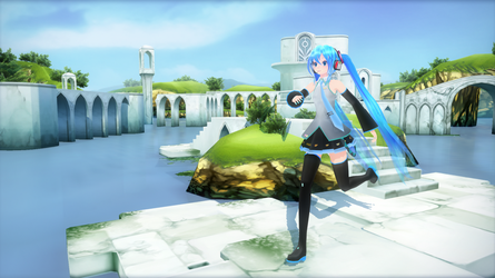 Hatsune Miku TDA -Traditional Outfit: Download by SuperSonic68