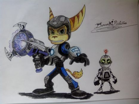 Ratchet and Clank  by Ismatrooper81