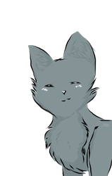 Smiley cat by RedFox6543