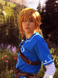 Out in the Wild (BOTW Link Cosplay) by Bev-Nap