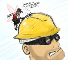 HEY LISTEN chucklehead Engie by LM-Shade