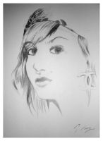 .::Audrey Kitching::. by i-scene-death