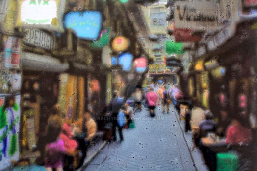 Painted Degraves St by rachyb8