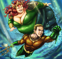 Cryssy and Kevin of Atlantis