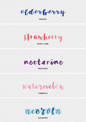 mini font pack @wfres by wildfireresources