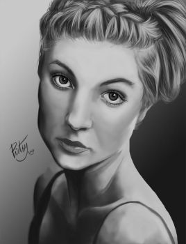 FACE STUDY #3 by pictsy