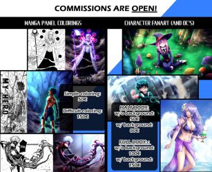 Commissions are OPEN! Only 3 slots open by Kortrex