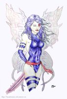 Psylocke - Butterfly's Touch by IAmABananaOo