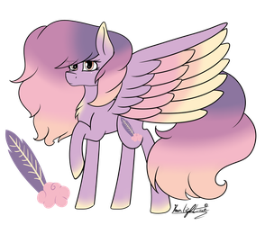 Pegasus ADOPTABLE - Fluffy Cloud (CLOSED) by Moonlight0Shadow0